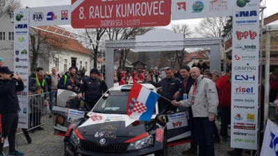 Ceremonial start of 8. INA Kumrovec Rally is over.